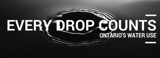 Every Drop Counts | Ontario's Water Use