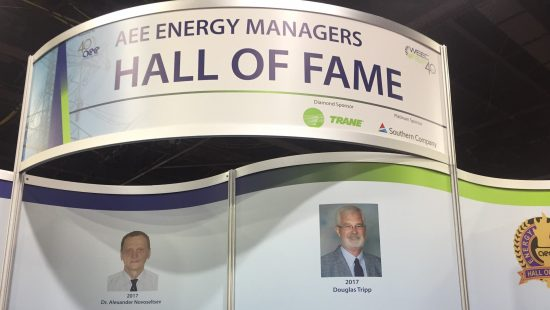Doug Tripp Inducted to AEE Energy Managers Hall of Fame
