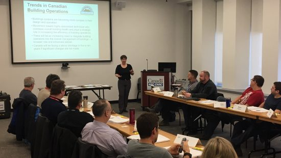 Energy and GHG Training For Federal Government Employees Kicks Off With First Day of BOC Course in Ottawa
