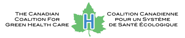 The Canadian Coalition for Green Health Care logo, colour