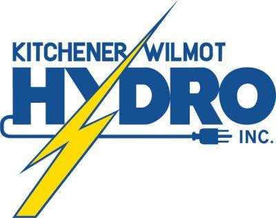 Kitchener Wilmot Hydro logo blue
