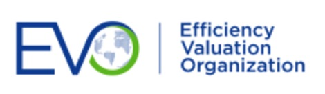 Efficiency Valuation Organization logo EVO colour