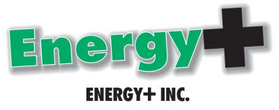 Energy+ Inc logo, colour