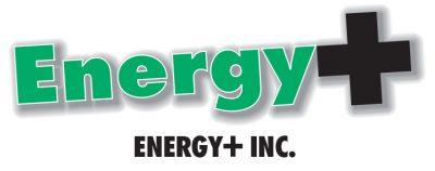 Energy+ Inc logo, colour