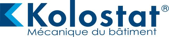 KolostatR Mécanique du bâtiment logo, bleu