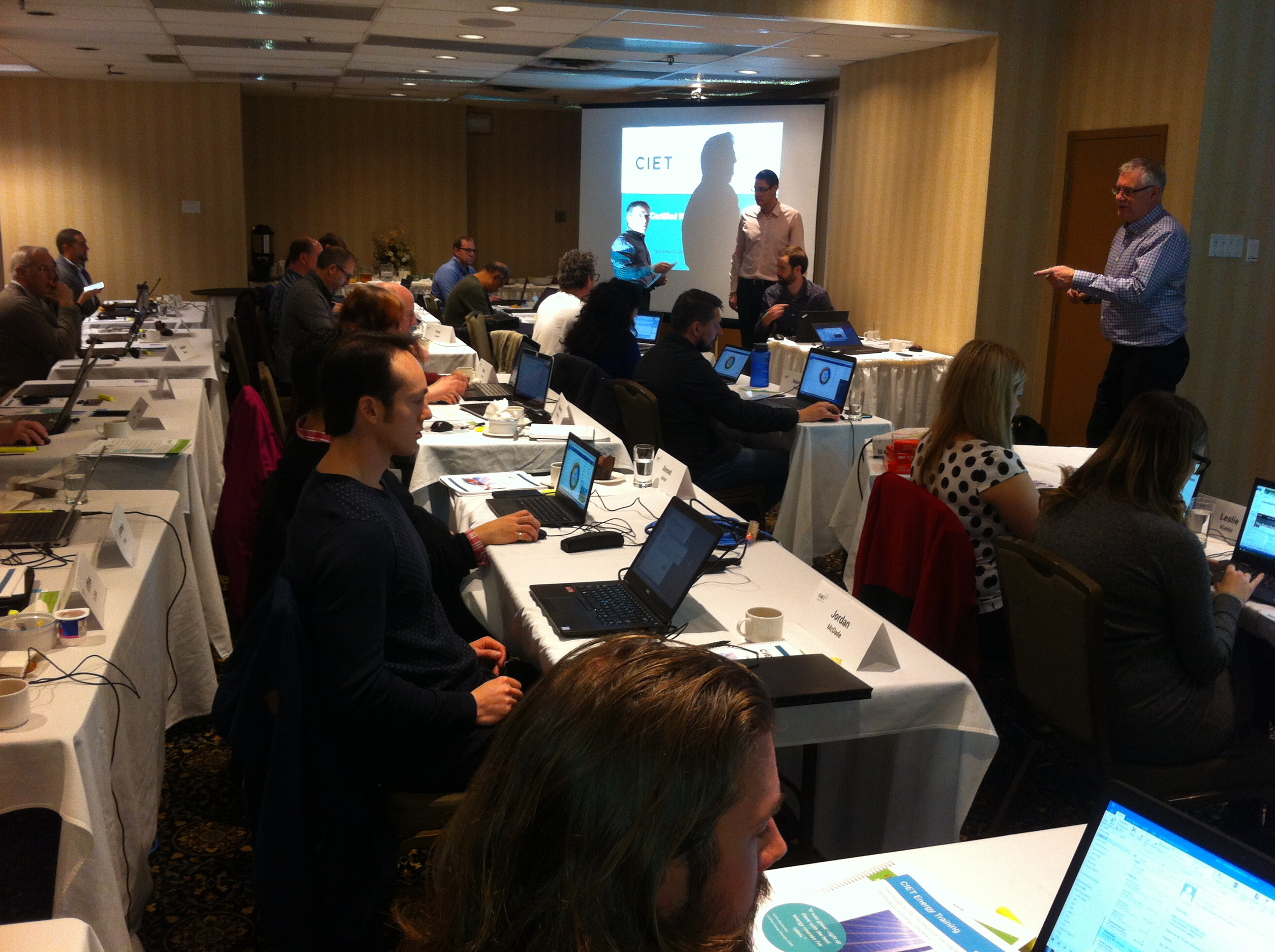 CIET's latest 3-day public RETScreen Expert® Training course kicked off in Toronto