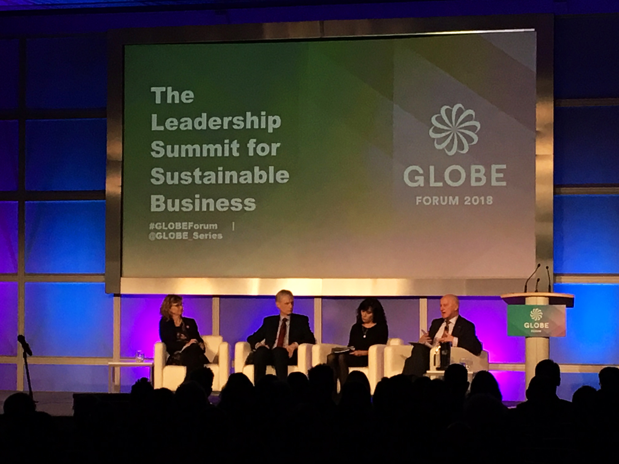 CIET Takes Part in the 2018 Globe Forum