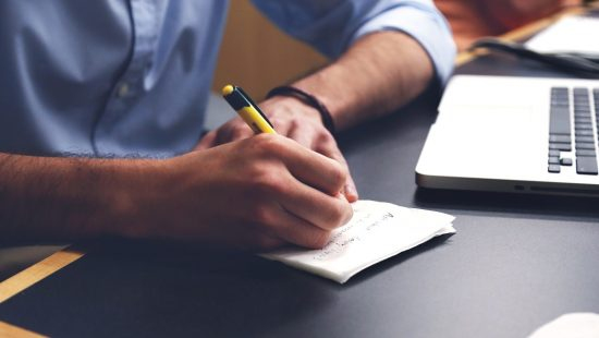 How Writing Your Career Goals Makes You More Likely To Achieve Them