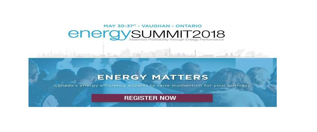 Come join CIET at the Energy Summit 2018 being held in the GTA