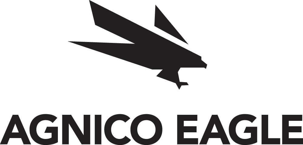Agnico Eagle logo, black