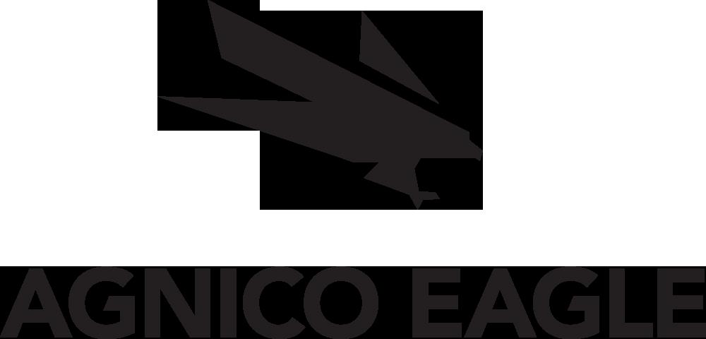 Agnico Eagle logo, black