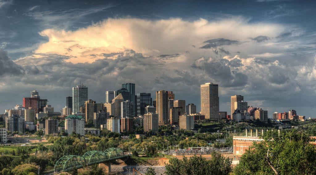 Edmonton, Alberta downtown skyline - Edmonton Launches EnerGuide Residential Energy Evaluation Program & Rebate