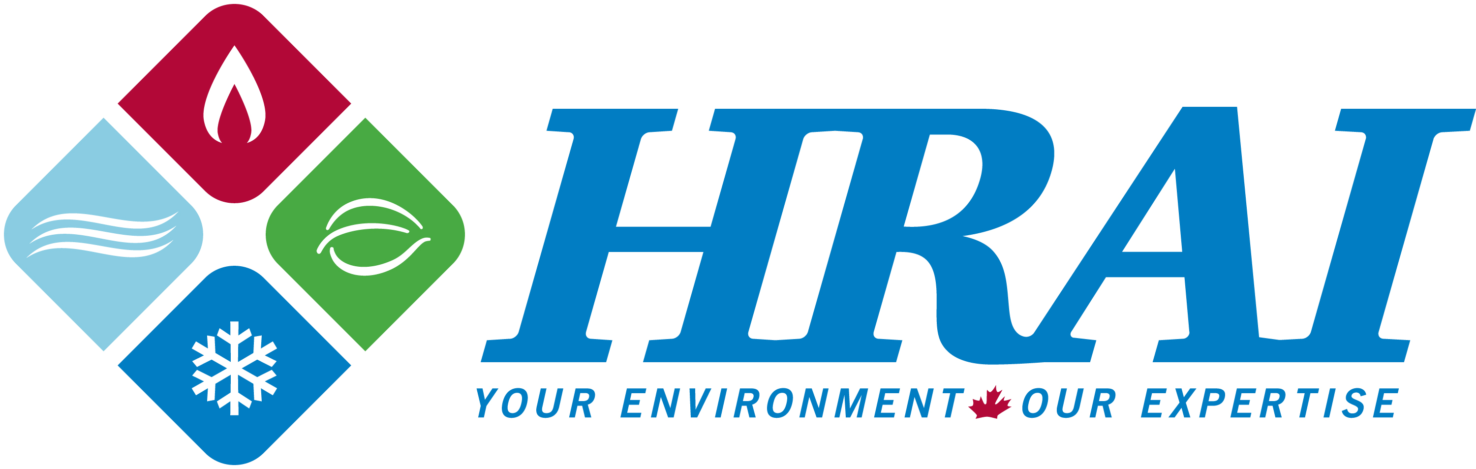 HRAI logo, colour