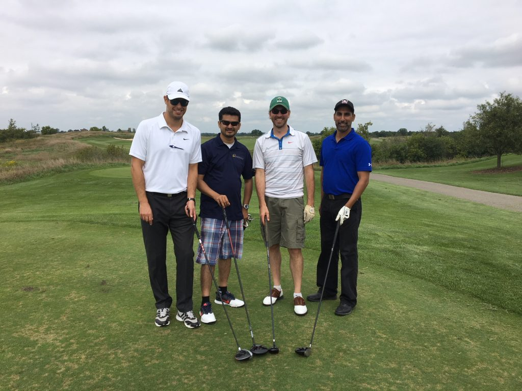 CIET tees it up in support of CaGBC's Drive for Change Golf Tournament.