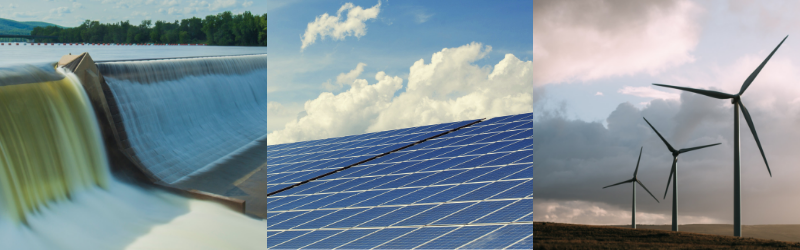 The Importance of Renewable Energy Projects in Canada; hydro power, solar power, wind power