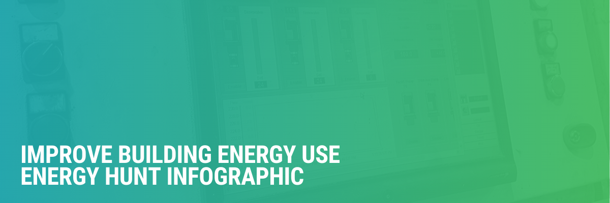 Improve Building Energy Use | Energy Hunt Infographic
