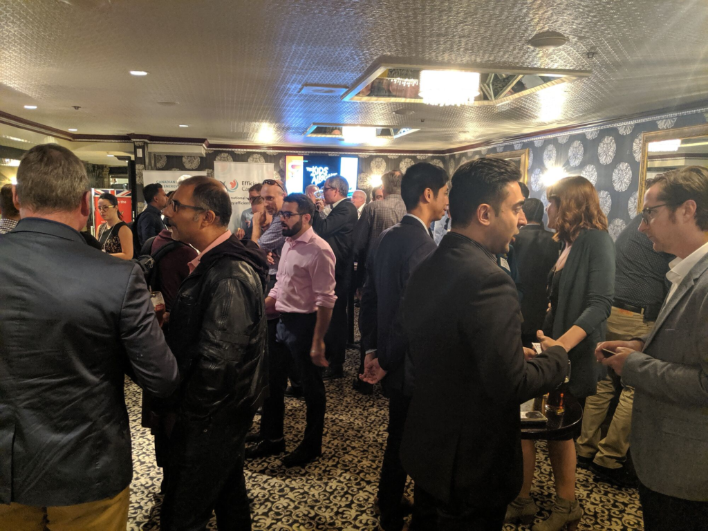 A group of professionals networking at CIET Connect