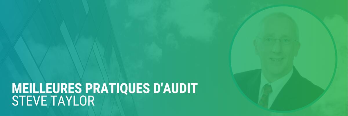 Meilleures pratiques d'audit