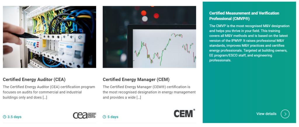 ciet webiste new programs page