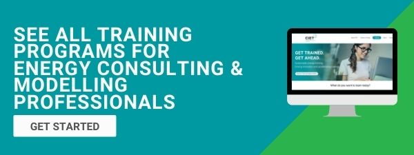 CIET Training Programs for Energy Consulting and Modelling Professionals