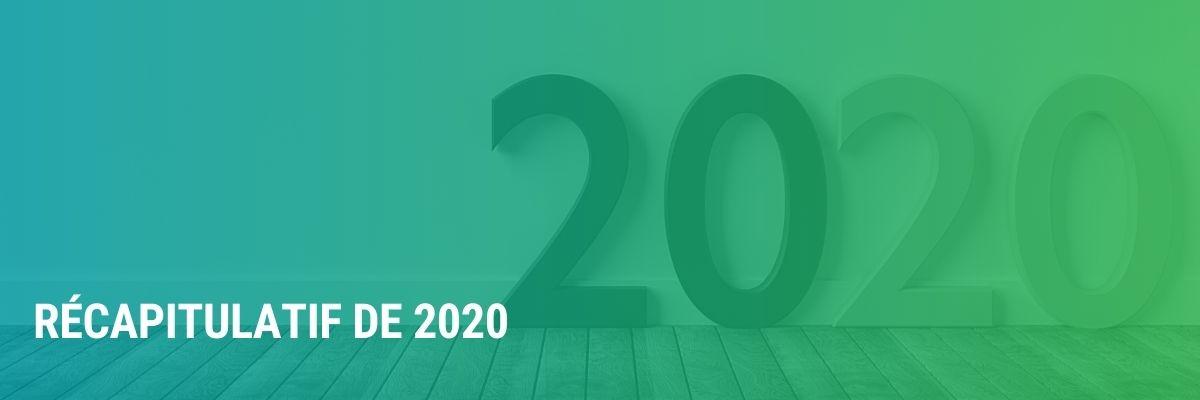 Récapitulatif de 2020 par Mathieu Côte